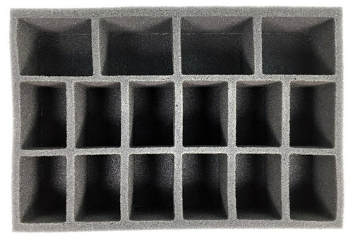 Small Medium and Large Model Troop Foam Tray (BFS-2)