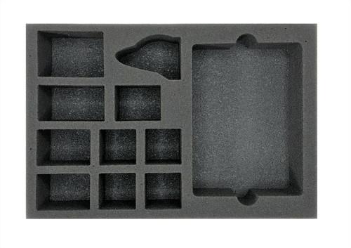 Warcry Khainite Shadoestalkers Foam Tray (BFS-2)