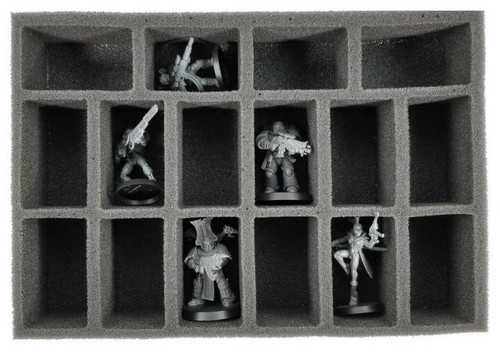 Necromunda Mini Troop Foam Tray 1 (MN-1.5)