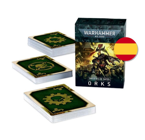 DATACARDS: ORKS (SPANISH)