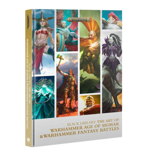 THE ART OF WARHAMMER AOS & WH FANTASY BATTLES