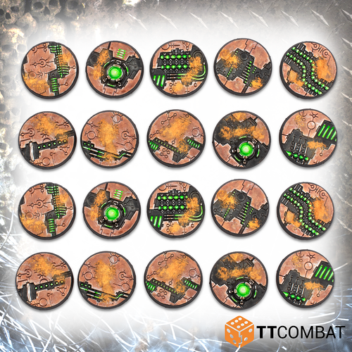 TABLETOP SCNEICS 28mm Tomb World Bases
