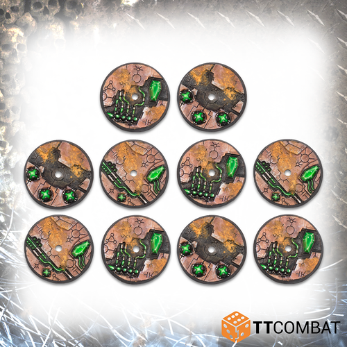 TABLETOP SCNEICS 32mm Tomb World Flying Bases