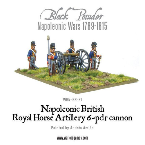 British Horse Artillery 6-pdr Cannon