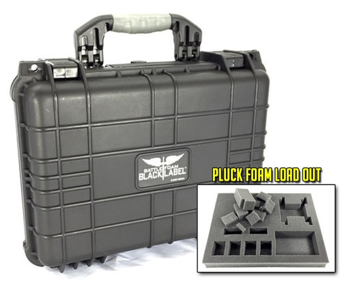 The Seawolf Black Label Case Pluck Foam Load Out