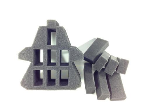 (Necron) Monolith with Troops Foam Plug