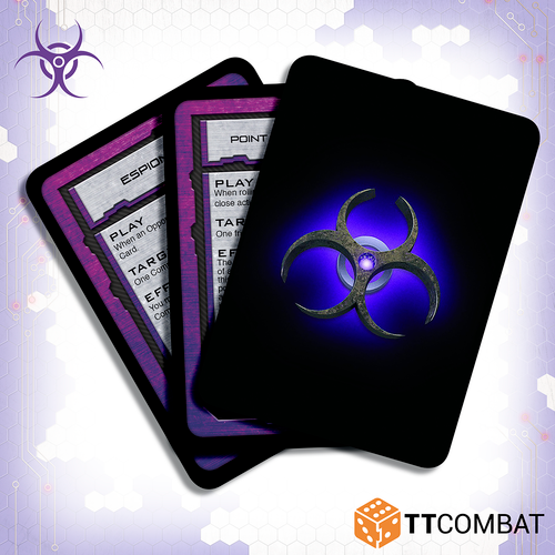 Dropfleet Scourge Command Cards