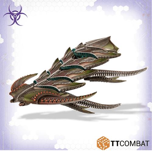 Dropfleet Scourge Daemon/Dragon Battleship