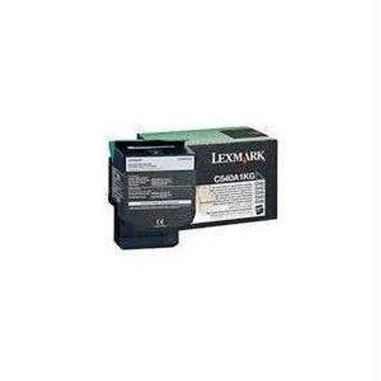 Recycle Your Used Lexmark Black Toner Cartridge, 1,000 yield, fits multiple models - C540A4KG