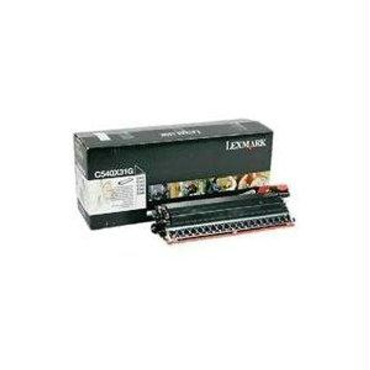 Recycle Your Used Lexmark Black Developer, 30,000 yield, fits multiple models - C540X31G