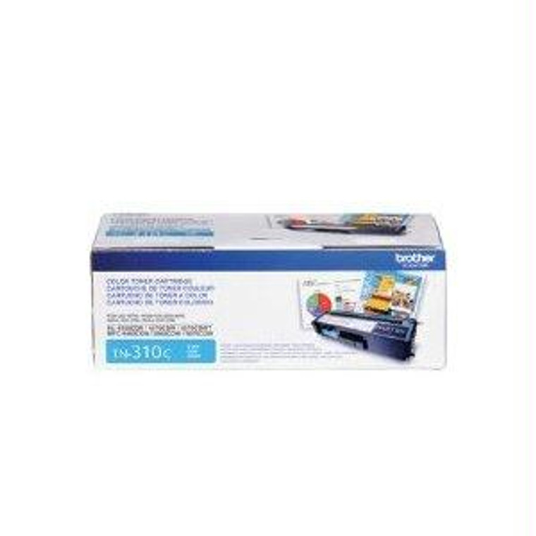 Recycle Your Used Brother Cyan Toner Cartridge, 1,500 yield, fits multiple models - TN310C