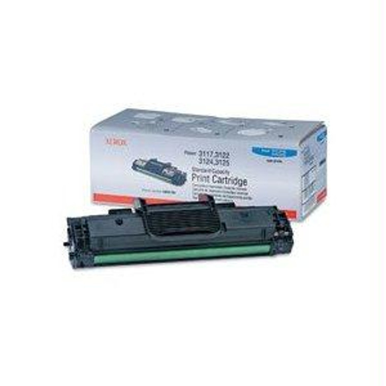 Recycle Your Used Xerox Black Toner Cartridge, 3,000 yield, fits multiple models - 106R01159