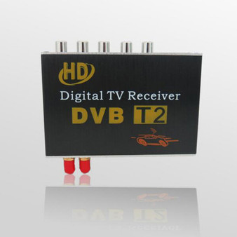 Auto HD DVB-T2 Double tuner Car Digital TV receiver