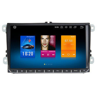 9'' Android Car Navigation DVD GPS for Volkswagen Golf Caddy Scirocco