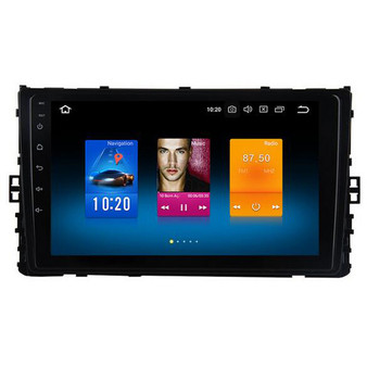9'' Android GPS Navigation Head Unit for Volkswagen MQB 2018