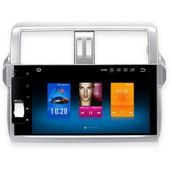 10.2'' Android Car Navigation DVD GPS player for Toyota Prado 150 2014 2015