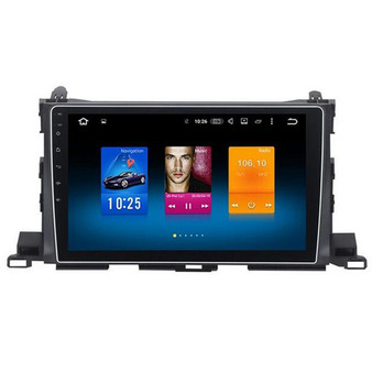 Toyota Highlander 2015 Android GPS Navigation Head unit