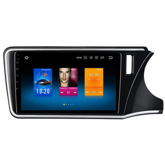 10.2'' Android GPS Navigation Head unit for Honda City 2015+ (RHD)