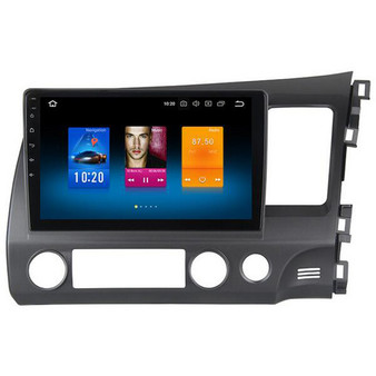 10.2'' Android GPS Navigation Head Unit for Honda Civic 2009-2011 (RHD)