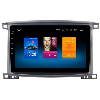 Toyota Land Cruiser Android Car Navigation GPS System