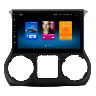 Jeep Wrangler Android Navigation GPS system