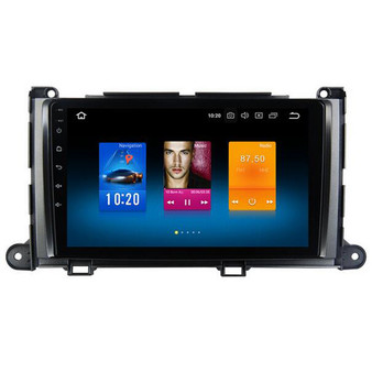 Toyota Sienna XL30 android navigation GPS player