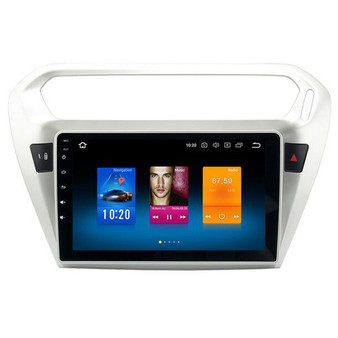 Peugeot 301 android car DVD player GPS navigation