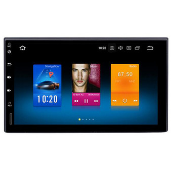 7 '' Android GPS Navigation for 2 Din Universal with ISO and Nissan cable