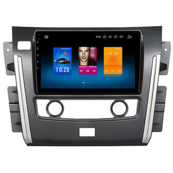 Nissan Patrol android navigation gps system