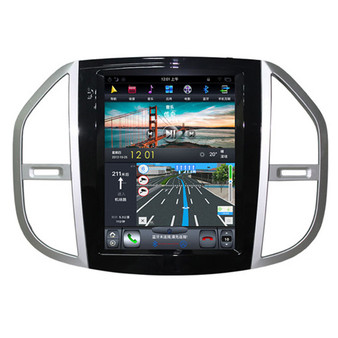 12.1 '' Mercedes Benz Vito 2016-2018 Tesla Style Vertical Screen Android Navigation GPS
