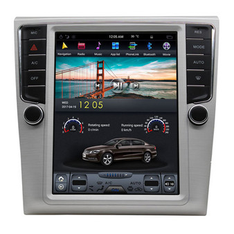10.4 '' VW Magotan 2009-2016 Tesla Style Vertical Screen Navigation GPS