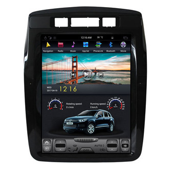 10.4 '' VW Touareg 2010-2017 Tesla Style Vertical Screen Android Navigation GPS