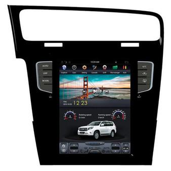 10.4 '' Volkswagen Golf 7 2014 Tesla Style Vertical Screen Android Navigation