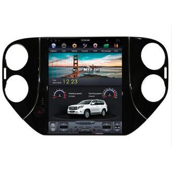 10.4 '' Volkswagen Tiguan 2013-2016 Vertical Screen Tesla Style Android GPS Navigation
