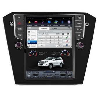 10.4 '' Volkswagen Passat 2016 Vertical Screen Tesla Style Android Navigation