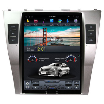 10.4 '' Tesla Style Vertical Screen Navigation GPS for Toyota Camry 2006-2011