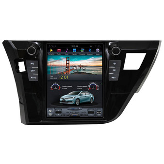 10.4'' Tesla Style Android Navigation GPS for Toyota Corolla 2014-2016