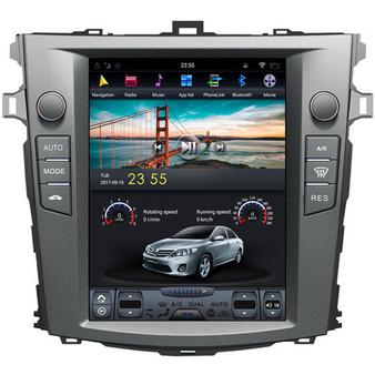 10.4 '' Tesla Style Android Navigation GPS for  Toyota Corolla 2006-2013