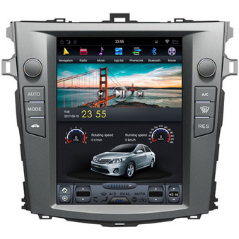 10.4 '' Tesla Style Android Navigation GPS for  Toyota Corolla 2006-2013