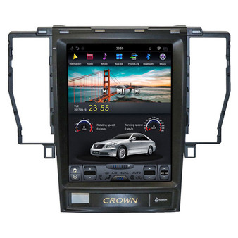 10.4 '' Tesla Style Android Navigation GPS for  Toyota Crown 2005-2009