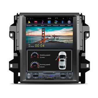 12.1 '' Tesla Style Android Navigation GPS for Toyota Fortuner 2016-2018