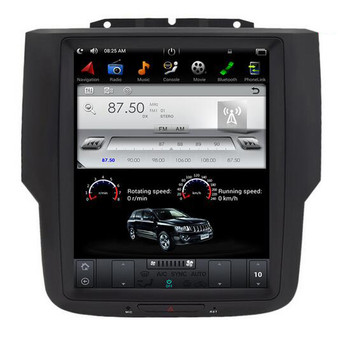 10.4 '' Tesla Style Android Navigation Vertical Screen for Dodge Ram 2011-2017