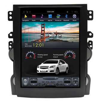 10.4 '' Tesla Style Android GPS Navigation for Chevrolet Malibu 2012-2015