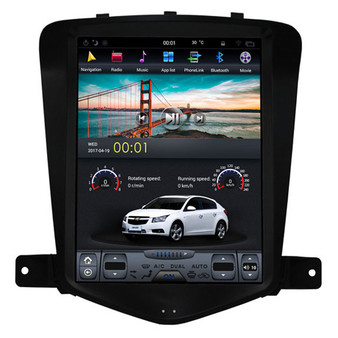 9.7 '' Vertical Screen Android Navigation GPS for Chevrolet Cruze 2009 -2015