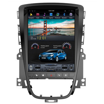 10.4 '' Tesla-Style Vertical Screen Navigation GPS for Buick Excelle XT Opel astra j 2009-2013