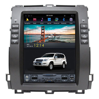 10.4 '' Lexus GX470 2004-2009 Tesla Style Vertical Screen Android GPS Navigation