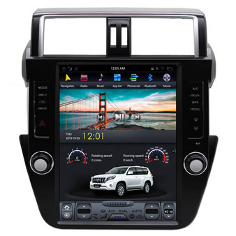 12.1 '' Tesla Style Vertical Screen Navigation GPS for Toyota Prado Plus 2014-2017