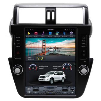 12.1 '' Tesla Style Vertical Screen Navigation GPS for Toyota Prado Plus 2014-2017