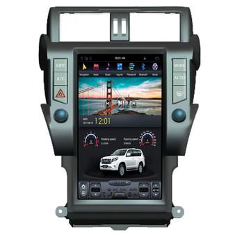 13.6 '' Toyota Prado Plus 2014-2017 Tesla Style Vertical Screen Android Navigation GPS