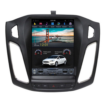 10.4 '' Ford Focus 2013-2017 Tesla Style Vertical Screen Android Navigation GPS